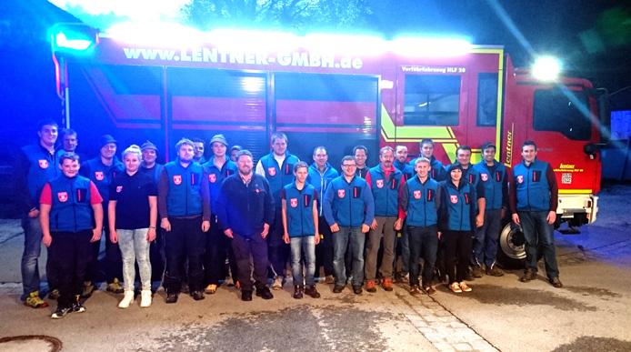 Feuerwehr Schleching Manschaft 2016 Gruppenfoto